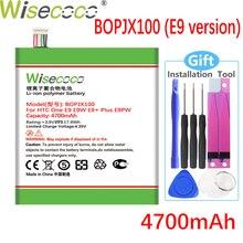 WISECOCO 4700mAh BOPJX100 (E9 versie) batterij Voor HTC Desire 830 One E9 E9w E9 + Plus E9PW Krachtige Telefoon Hoge Kwaliteit Batterij