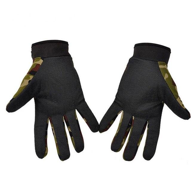 Men's Sport Tactical Gloves Fingerless Army Lightweight Summer Breathable Riding Female Gloves Full Fingers Non-Slip 2