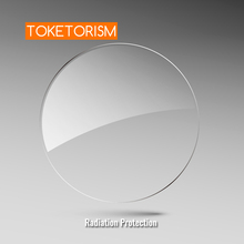 Lentes asféricas da resina das lentes da prescrição da proteção da radiação do toketorismo para a lente do diopter da presbiopia da miopia hyperopia