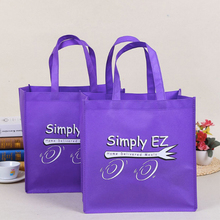 500pcs/lot Wholesale 35x35x12cm Reusable Non Woven Shopping Bags With Logo Promotional Gifts Customize Eco Tote