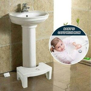 Image 3 - PP katlanır çok fonksiyonlu tuvalet taburesi taşınabilir adım ev banyo için TB satış