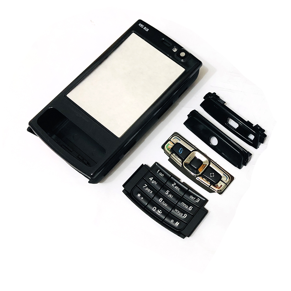 Complete Front Cover N95(8G) Keyboard For Nokia N95(8G)  Battery Back Cover High Quality Housing+Keypad