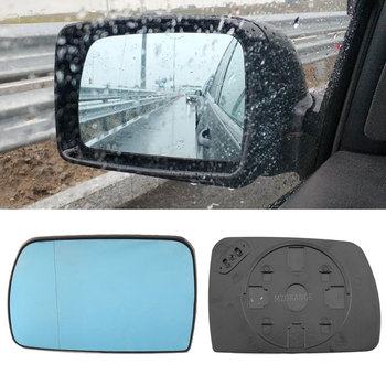 цена на Heated side mirror glass for BMW X5 E53 1999-2006 Door Wing Rear View Rearview Mirror Glass Side Mirror 51168408797 / 8408797