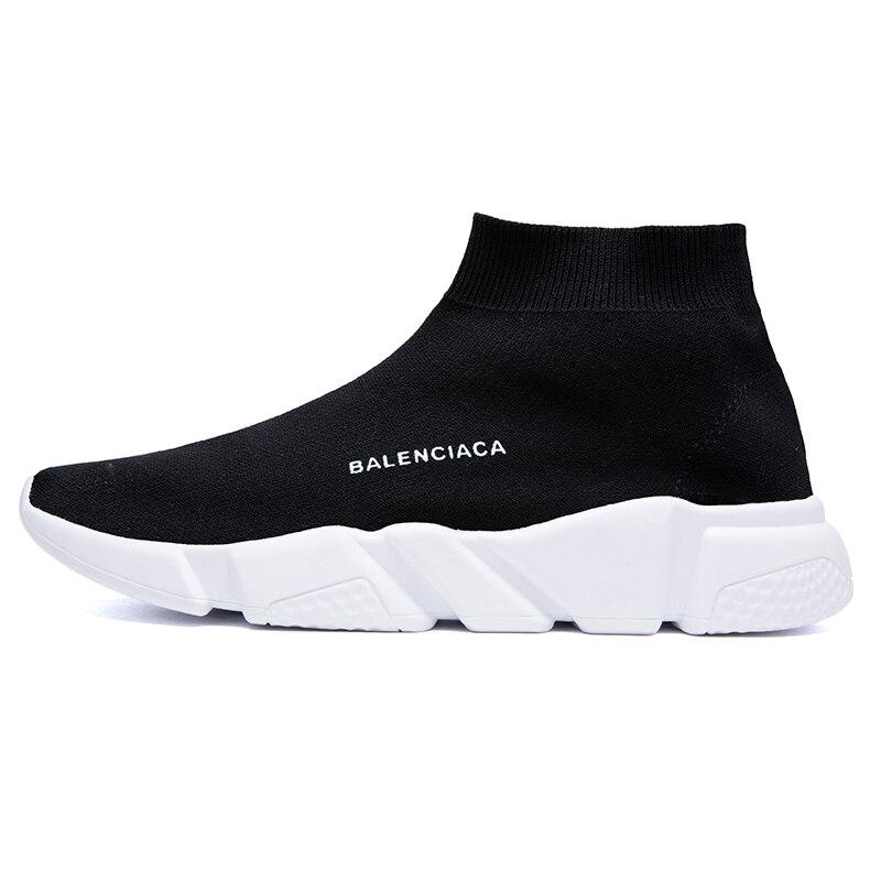 2020 New High Top Women Casual Shoes Men Designer Brand Couple Sock Shoes Women FIashion Unisex Walking Footwear Zapatos Mujer