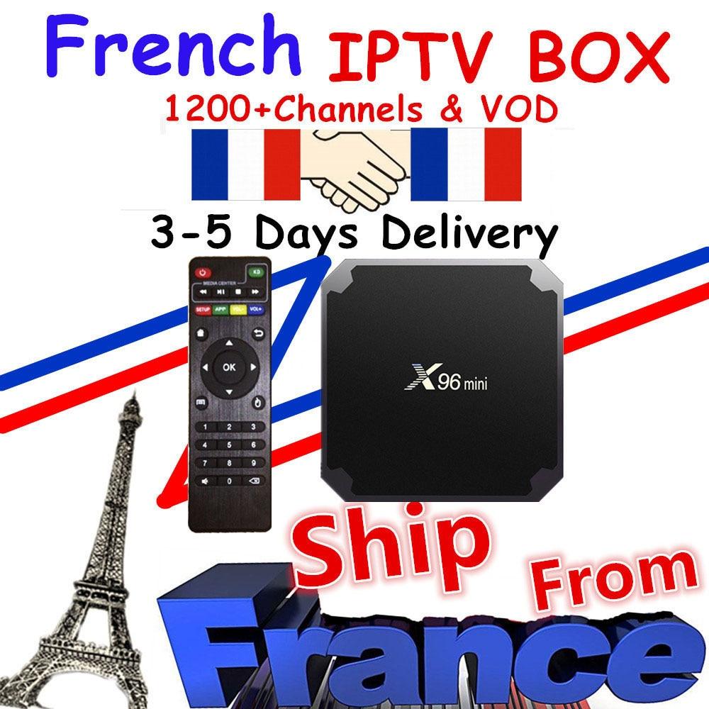 Iptv m3u subscription 1200 live&VOD neo tv pro Europe French Arabic France Belgium with X96 mini android box IPTV