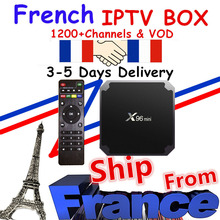 Iptv m3u subscription 1200 live&VOD neo tv pro Europe French Arabic France Belgium with X96 mini android box IPTV
