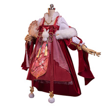 The Game Miracle Nikki Chinese Ancient Costume Super Gorgeous Constellation Lolita Halloween Women Dress все цены