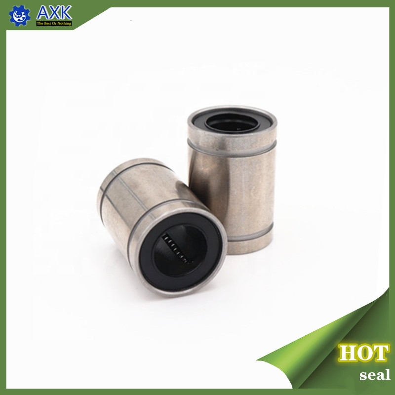 Hot Sale 1pc LM3UU LM4UU LM6UULM8UU LM10UU LM12UU LM16UU LM20UU Linear Bushing CNC Linear Bearings Linear Shaft