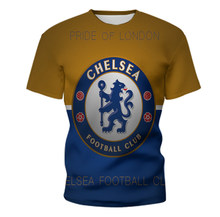 2019 Chelsea T-shirt Fc Voetbal Jersey 3d T-shirt Chelsea Training T-shirt Chelsea Trainingspak Mannen Voetbal T-shirt(China)