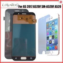 삼성 갤럭시 A5 2017 A520 LCD A520K A520F A520L 디스플레이 터치 스크린 디지타이저 어셈블리 교체 스크린