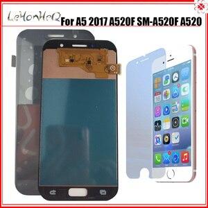 Image 1 - Dành Cho Samsung Galaxy Samsung Galaxy A5 2017 A520 LCD A520K A520F A520L Màn Hình Bộ Số Hóa Cảm Ứng Thay Thế Màn Hình