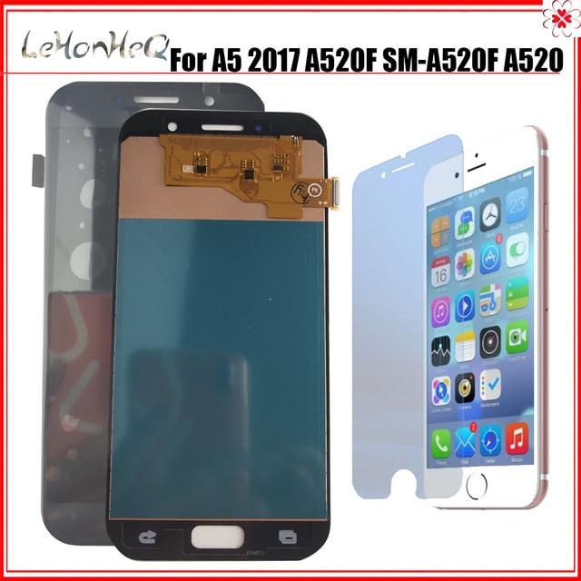Dành Cho Samsung Galaxy Samsung Galaxy A5 2017 A520 LCD A520K A520F A520L Màn Hình Bộ Số Hóa Cảm Ứng Thay Thế Màn Hình