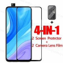 Полное покрытие экрана протектор для Huawei Y9s Y6s Y8p Y7p Y6p Y5p P30 Lite Y9 Prime стекло для Honor 9A 9C 9S X10 9X закаленное стекло