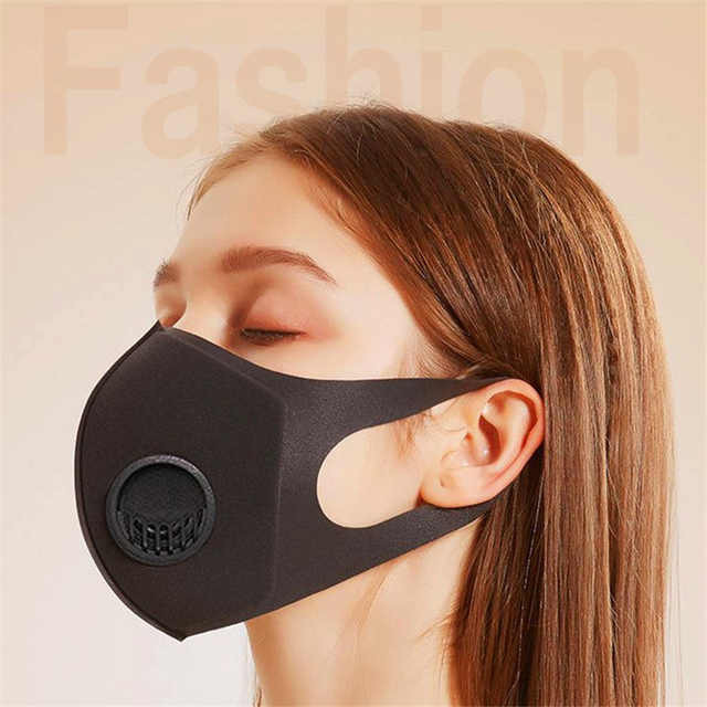 Fast Ship 6 Pcs Dust Proof Mask Washed Reusable Filter Anti PM2.5 Air Pollution Mouth Face Mask Men Women Anti Pollution Masks 1