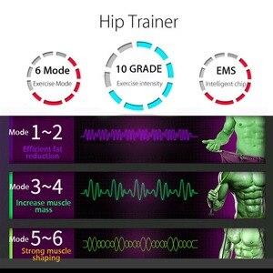 Image 3 - EMS جهاز تدريب العضلات البطن محفز ABS الكهربائي اللياقة البدنية مدلك البطن فقدان الوزن التخسيس معدات رياضية للمنزل