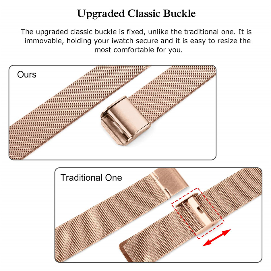 Metal Strap for Apple Watch Series 5 4 3 2 1 38mm 40mm 42mm 44mm Bracelet for iWatch Accessories03
