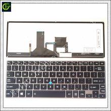 Teclado retroiluminado en inglés de Toshiba Portege Z30 Z30T A, B, C, Z30-A Z30t-A Z30T-A1310 Z30-A1302 Z30-C Z30T-C Z30-B Z30T-B nos