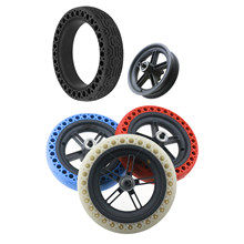 1Pcs 8.5-Inch Honeycomb Rubber Solid Tire Tubeless 8 1/2 for Xiaomi M365 Electric Scooter Solid Tire with Contour(China)
