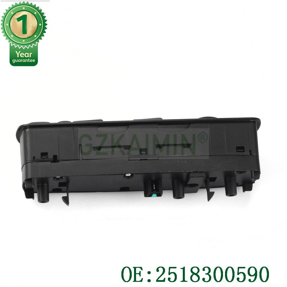 TOP qualité tout nouveau 2518300590 fenêtre interrupteur principal pour Mercedes GL R classe ML350 W251 X164 GL450 R350 No. A251 830 - 2