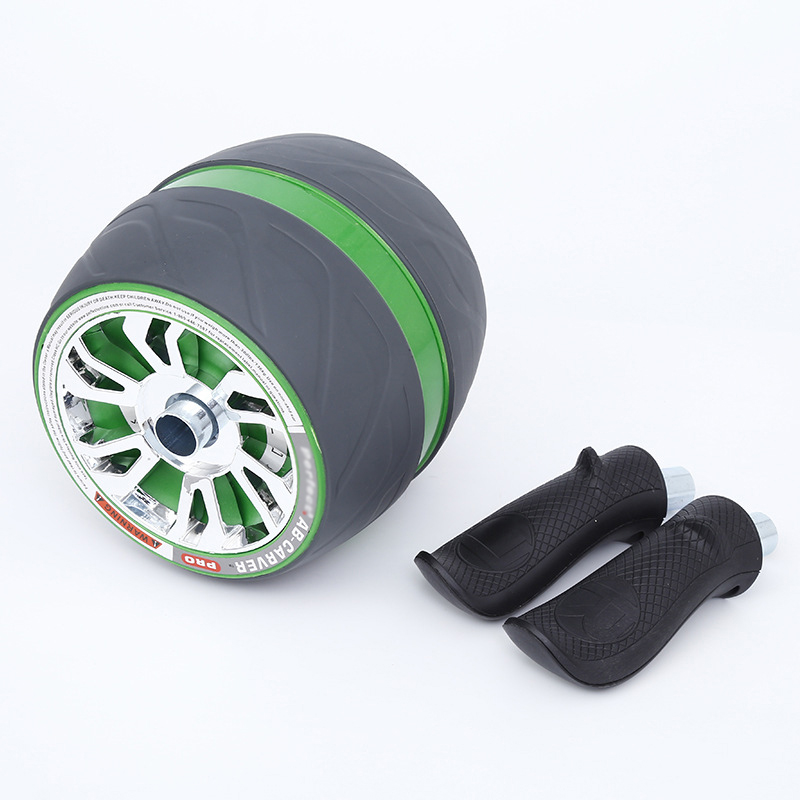 Automatic Rebound Fitness Ab Roller No Noise Abdominal With Mat Workouts Wheels For Home Gym Equipment