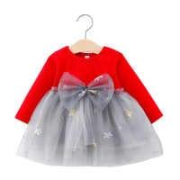 Vestido de fiesta de cumpleaños para bebé y niña, tutú de princesa, ropa infantil, 1 año, Otoño, 2020