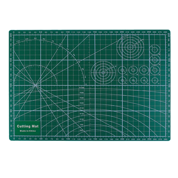 PVC Cutting Mat A4 Durable Self-Healing Cut Pad Patchwork Tools Handmade