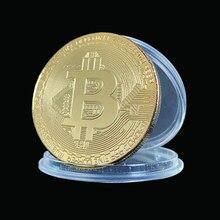 Estados unidos bitcoin eua dom colecionável metal moeda de ouro antigo imitação