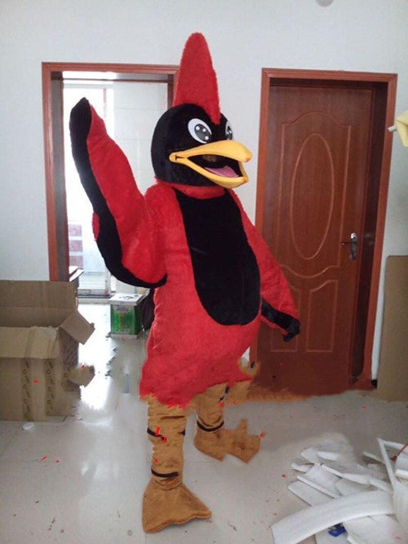 Costume de mascotte aigle rouge costumes Cosplay fête jeu robe tenues vêtements publicité Promotion carnaval Halloween Fursuit