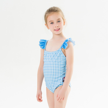 2020 New Children #8217 s Swimwear Summer New Swimwear Girls Children #8217 s Straps Cute Printed Swimwear One-piece Swimsuit cheap Polyester Plaid Fits smaller than usual Please check this store s sizing info 82019