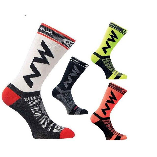 Verão sem costura meias de ciclismo das mulheres dos homens respirável esporte ao ar livre meias estrada mtb bicicleta respirável meias compressão 2020 1