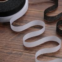 Rollo de tela adhesiva Wonder de doble cara, cinta de dobladillo de 50m, 100m, color blanco y negro