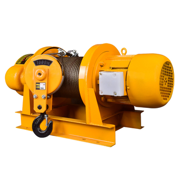 up down pushbutton crane hoist switch rainproof cob 63a 380V 2t / 1t Crane Electric Heavy Industry Building Decoration Crane Tools Hoist Hoist Crane 30m Rope 60m Rope Traction Machine