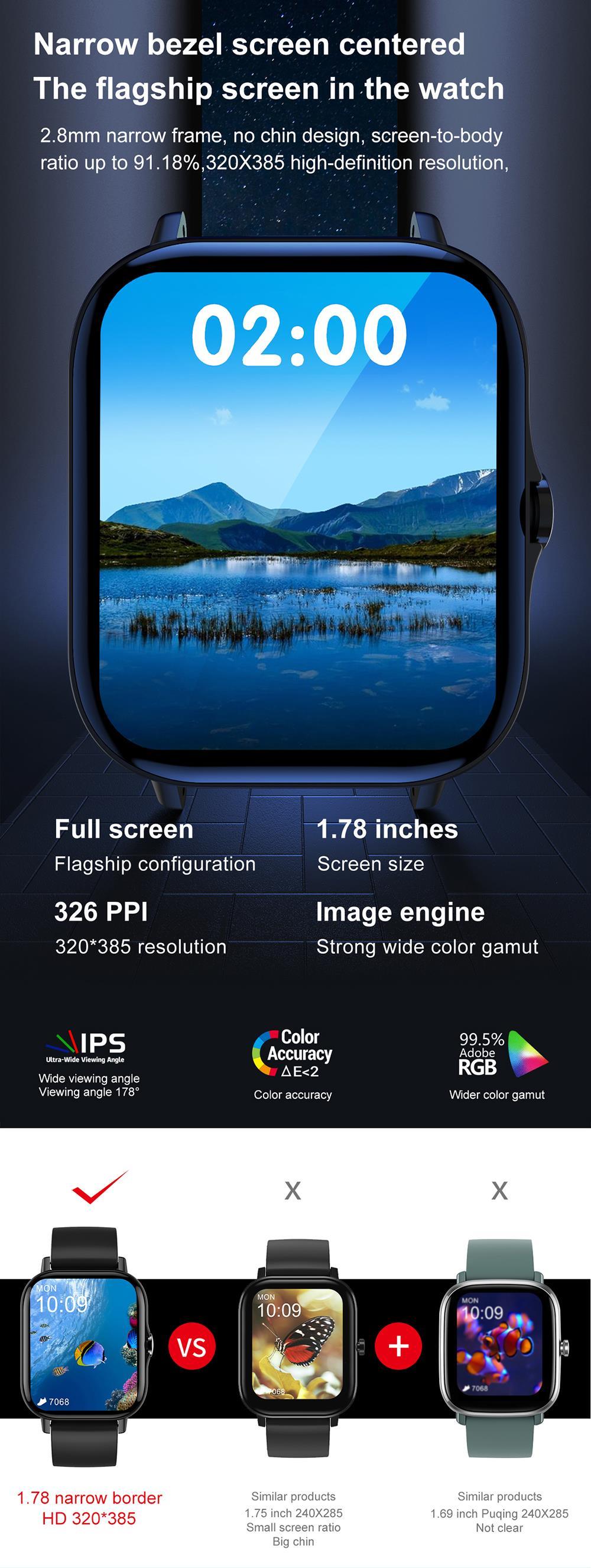 H30bc898eb56e487bba808a011ee0b0f2N For Xiaomi Apple Phone IOS Reloj Inteligente Hombre Smartwatch 2021 Men Bluetooth Call Smart Watch Man Woman Full Touch IP68
