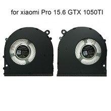 Cpu ventilador de refrigeração refrigerador computador portátil para xiaomi pro 15.6 mi gaming gtx 1050ti gpu fãs dv 5v eg50040s1 ce60 ce70 s9a 6033b0063601