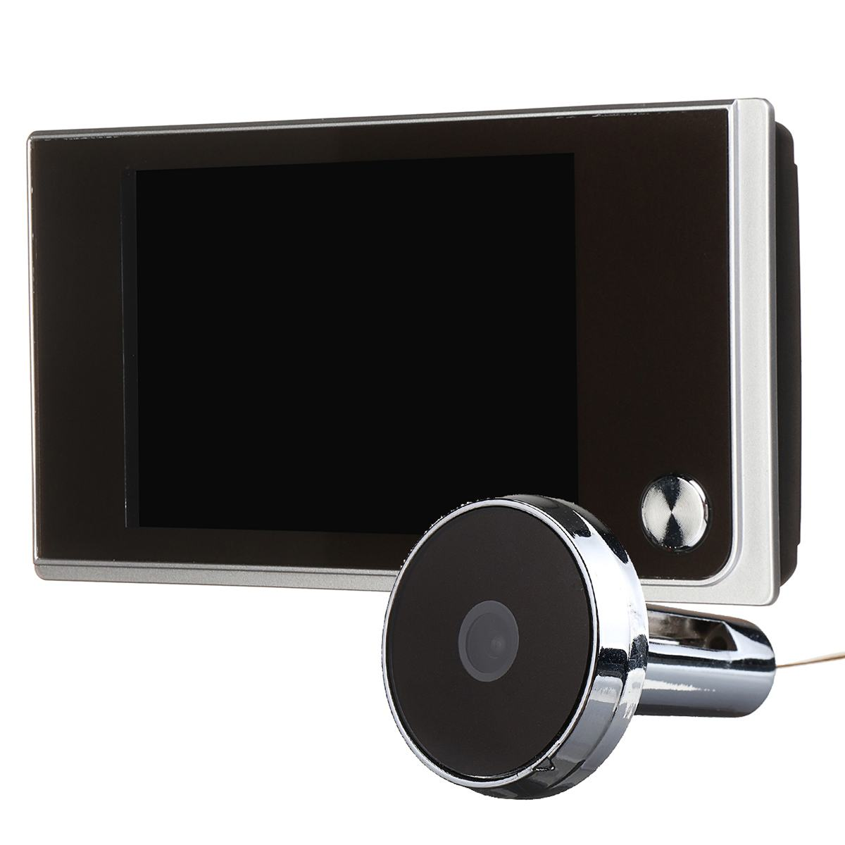 3.5 Inch LCD Digital Video Peephole Doorbell Wireless Home Security Smart Doorbells 120 Degrees View Angle  Apartment Doorbell