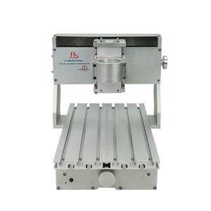 Image 4 - Mini DIY CNC makinesi CNC 3020 çerçeve sondaj ve freze makinesi hobi amaçlı 65mm mil Motor olmadan