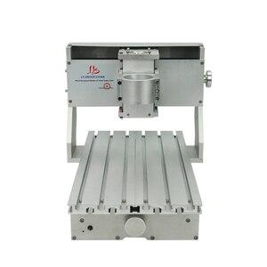 Image 4 - 미니 diy cnc 기계 cnc 3020 프레임 드릴링 및 밀링 머신 취미 목적 65mm 스핀들 모터없이
