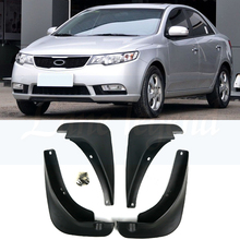 Car Mud Flaps For Kia Forte Cerato K3 2010 - 2013 Sedan Mudflaps Splash Guards Mud Flap Mudguards Fender Front Rear 2011 2012 4pcs mud flaps for dfm dongfeng succe 2010 2011 2012 2013 2014 2015 mudflaps mudflap splash guards fender mudguards front rear
