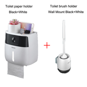 Image 1 - LEDFRE קיר רכוב מחזיק נייר טואלט מכשירי רב Creative נייר טואלט רחצה כפול נייר רקמות תיבת LF82003P