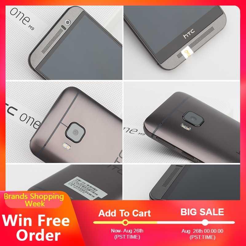الأصلي مقفلة HTC واحد M9 4G LTE الهواتف المحمولة HTC M9 الثماني النواة 32GB ROM 3GB RAM 20MP كاميرا WIFI NFC GPS M9 الهواتف الذكية