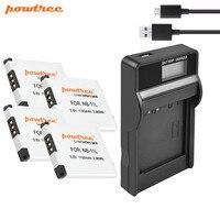 Powtree NB 11L NB11L NB 11L bateria + LCD ładowarka do Canona PowerShot SX410 SX400 jest ELPH 320 340 A2300 jest  a2400 jest  A2500  A2600 w Baterie cyfrowe od Elektronika użytkowa na