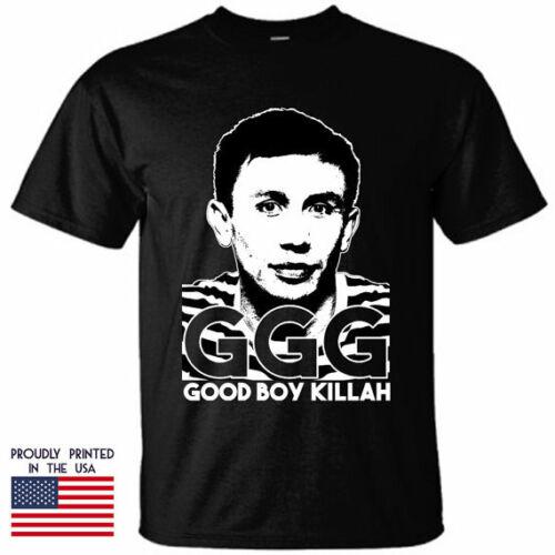 Ggg T-shirt Gennady Golovkin People/'s Champ Grey T-shirt Size S-2xl