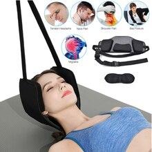 Гамак для шеи и головы для облегчения боли в спине, с бесплатной маской для глаз и прочной эластичной безопасностью