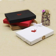 Bigger Mother Day Gift Box 10/20pcs 20*2.5*15cm Wedding Favour Box Macaron Packaging Caixa Kraft Paper Boxes Jewelry Cake Gift