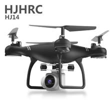 HJ14W Drone GPS ME sigue WIFI FPV Quadcopter con 4 K/1080 P HD ancho ángulo de cámara plegable altitud Durable RC Dropship(China)