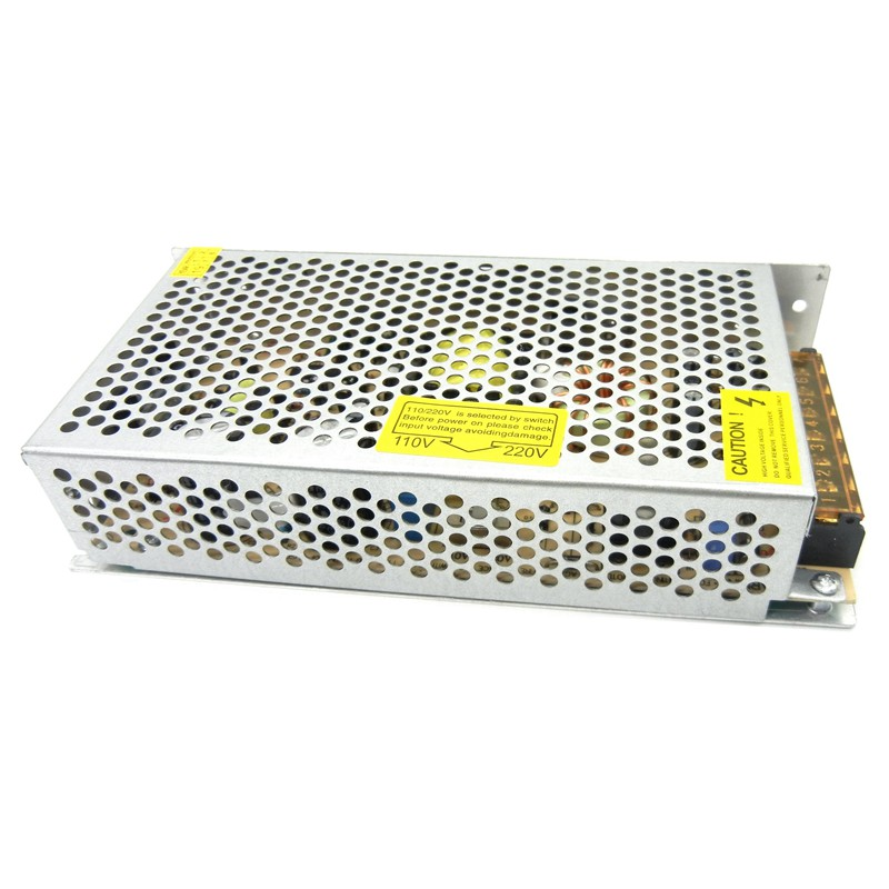Regulated 6V Switching Power Supply 20A 120W 30A 180W Driver 110V 220V AC to DC  Source Transformer SMPS for monitoring system-5
