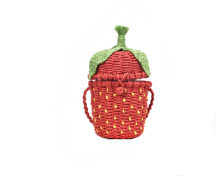 Hand-woven strawberry bag unilateral fashion Messenger high quality casual handbags shoulder Bolsos womens 2019 new