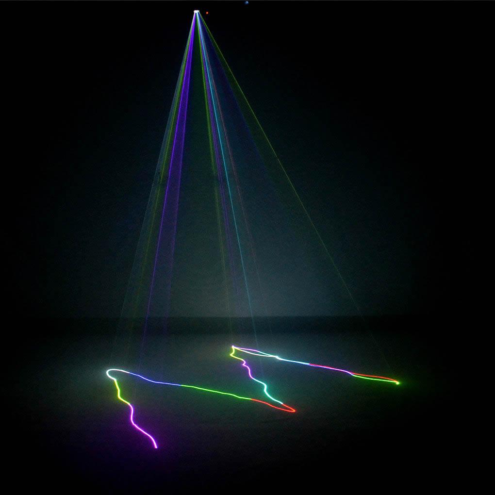AUCD Mini Remote 3D Effect 400mW RGB Full Color Laser Projector - Կոմերցիոն լուսավորություն - Լուսանկար 3