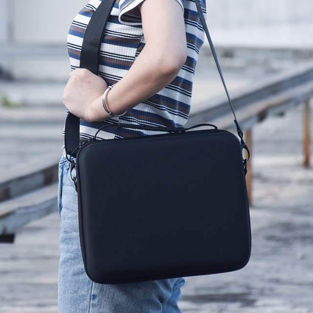 Saklama kutusu için DJi Mavic Mini Drone Hardshell kutusu omuzdan askili çanta taşınabilir paket çanta su geçirmez Anti Scratch taşıma çantası