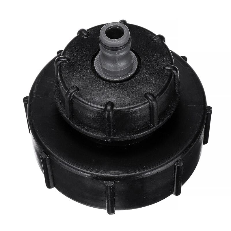 "1000L IBC Tank Garden Hose Valve Drain Adapter Fittings 3/"" Thread DN80 25mm"